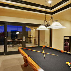 Contemporary Family Room by Sterling Custom Homes