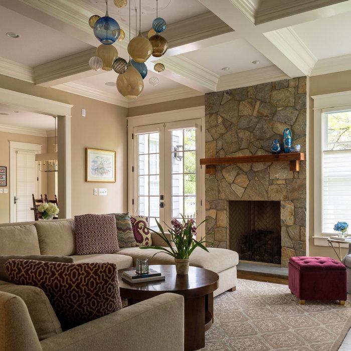 Plum Perfect Family Room