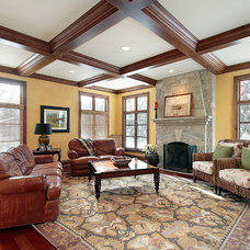 Traditional Family Room by Reynolds Architecture- Design & Construction