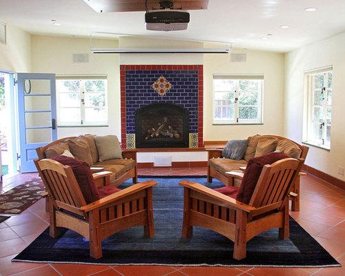 Fotos de salas de estar | Diseños de salas de estar con suelo de ...