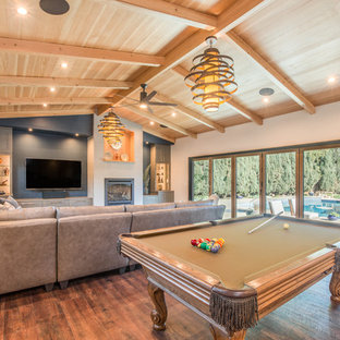 Poolside Clubhouse and Game Room