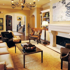 Traditional Family Room by K Evers Interiors