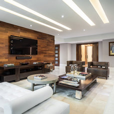 Contemporary Living Room by 2id Interiors