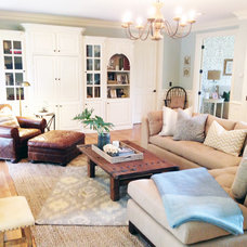 Traditional Family Room by Brad Ramsey Interiors