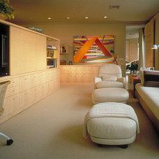 Modern Family Room by Powell/Kleinschmidt, Inc.