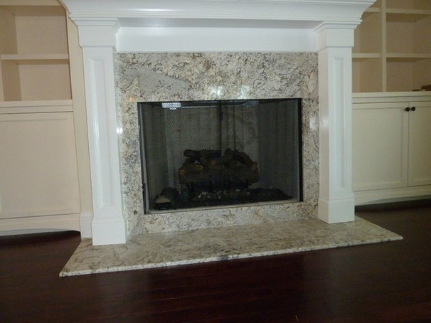 Traditional Family Room by Precision Granite & Marble
