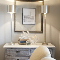 traditional family room by Alice Lane Home Collection
