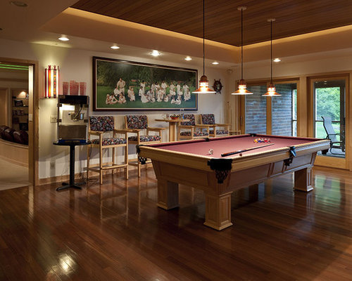 Best Pool Table Room Design Ideas & Remodel Pictures | Houzz