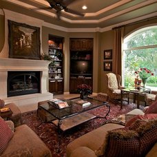 Traditional Family Room by Allegro Limited