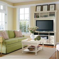 Tropical Family Room by Custom Furniture World