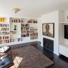 Contemporary Family Room by aamodt / plumb architects