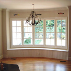 Traditional Family Room by Stony Point Construction Co., Inc
