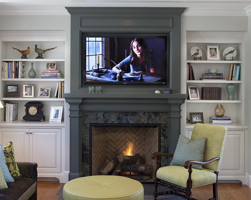 Fireplace Mantel Decorating Ideas | Houzz