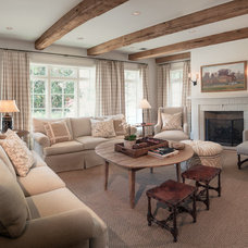 Traditional Family Room by Carl Mayfield Architectural Photographer