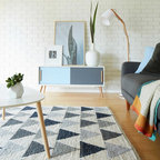 Beach House Contemporary Family Room Brisbane By