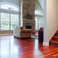 Traditional Family Room by Joseph I. Mycyk Architects, Inc.