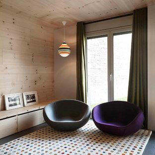 Proyecto de Interiorismo de vivienda retro y contemporanea