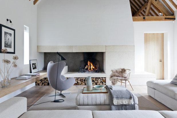 Decoración Para Principiantes Guía Para Diseñar Una Sala Con Chimenea