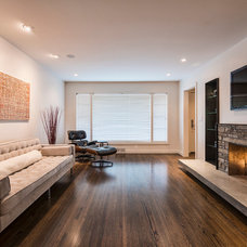 Contemporary Family Room by CRFORMA DESIGN:BUILD