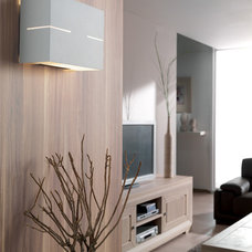 Contemporary Family Room by 1STOPlighting