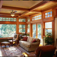 Traditional Family Room by Quantum Windows & Doors, Inc.