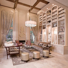 Contemporary Family Room by Cindy Aplanalp-Yates & Chairma Design Group
