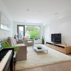 Contemporary Family Room by Studio Architectonic