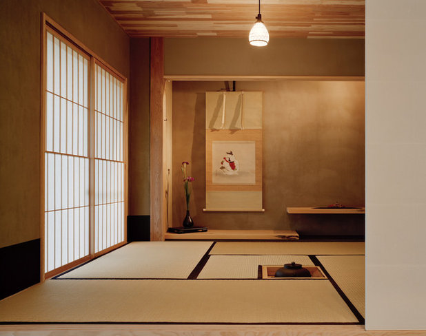 Japanisch Wohnzimmer by アトリエ137 | atelier137 Architectural Design Office