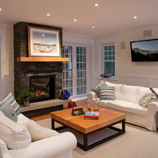 Traditional Family Room by Icon Developments Ltd