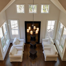 Traditional Family Room by Otrada LLC