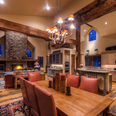 Traditional Family Room by Kayle Walker, Breckenridge Real Estate Agent