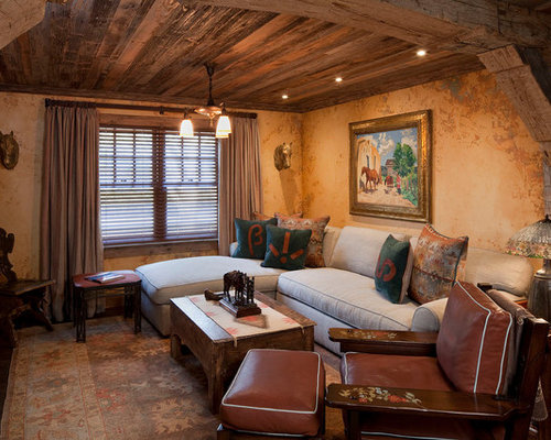 Southwest decor houzz for Home decorating ideas den