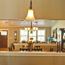 Traditional Family Room by Wynn & Associates