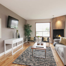 Contemporary Family Room by Craftsmen Contracting