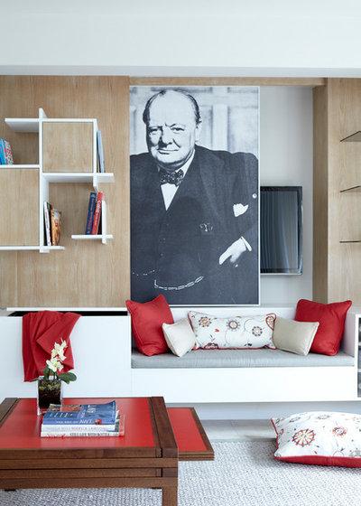 Современный Семейная комната by eoinlyons.com