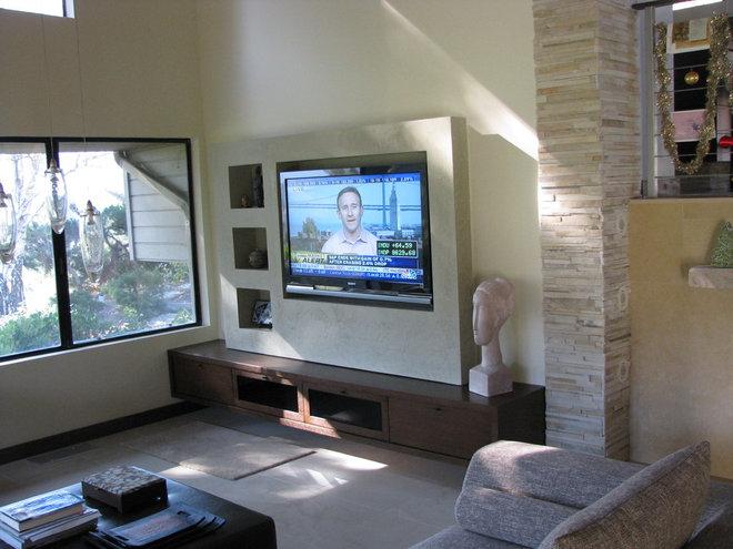 Contemporary Family Room by Anta Design Studio