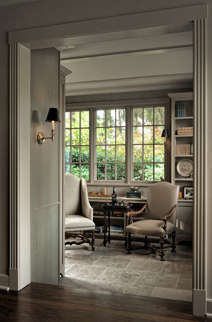 Traditional Family Room by Thomas Jacobson Construction, Inc