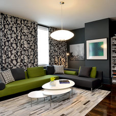 Contemporary Family Room by Arnal Photography
