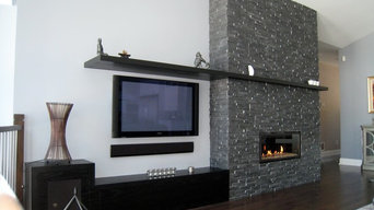 Realstone Systems Fireplace