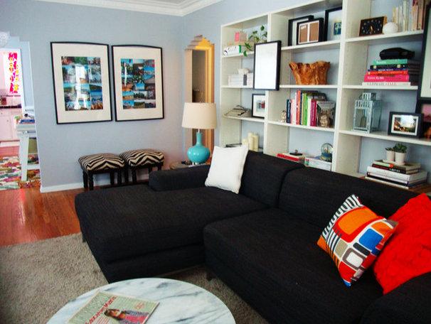 Modern Family Room Rebecca Orlov