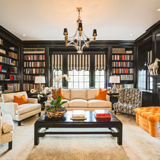 Traditional Family Room by O. Henry House, ltd.