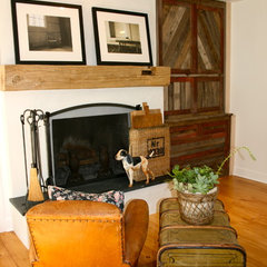 eclectic family room by Kelley & Company Home