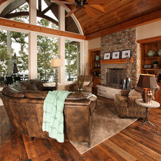 Traditional Family Room by Southend Reclaimed
