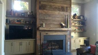 Reclaimed Wood Fireplaces in Atlanta