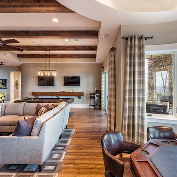Recreation Room - Blue Ridge Home in The Cliffs Valley