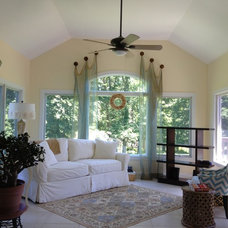 """Traditional Family Room by Drapes & """"Sew"""" Much More, LLC"""