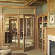 Traditional Family Room by Stallion Doors and Millwork