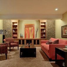 Contemporary Home Theater by Furniture Connection