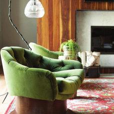 Modern Family Room by Castro Design Studio