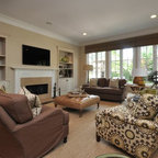South Charlotte House Family Room Traditional Family